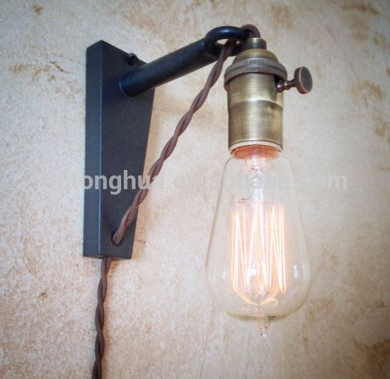 Vintage-Retro-EDISON-e27-brass-lamp-socket.jpg (570×553)