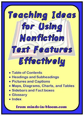 Teaching ideas for Nonfiction