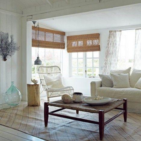 Coastal Living Room #home #deco