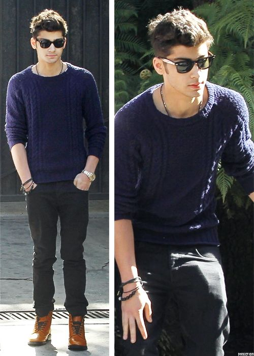 Zayn and his lovely outfit