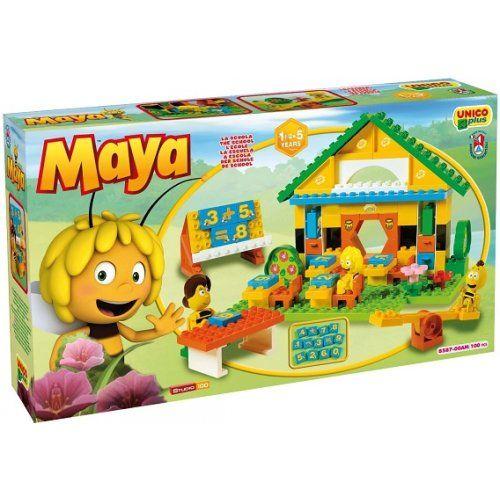 Ecole de Maya l'Abeille briques Androni Big cavernedesjouets.com