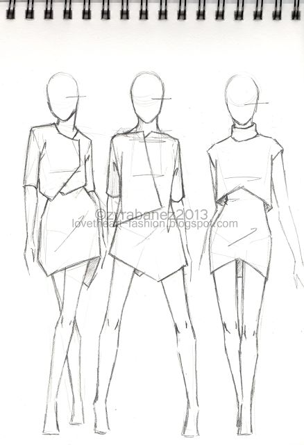 Clothing Design Ideas find this pin and more on fashion designillustration The Sketchbookgreat Fashion Sketch Great Fashion Sketch