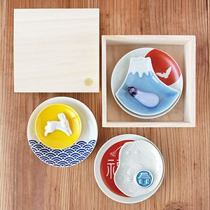 Ceramic Table Ware for Japanese Good Luck