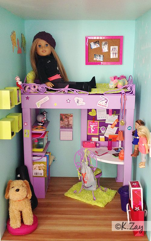 25+ best ideas about American girl bedrooms on Pinterest