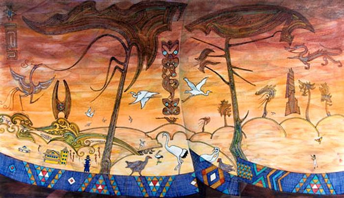 John Bevan Ford NZ Artist