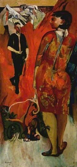 Encounter, 1942 by Robert Colquhoun (1914-1962)