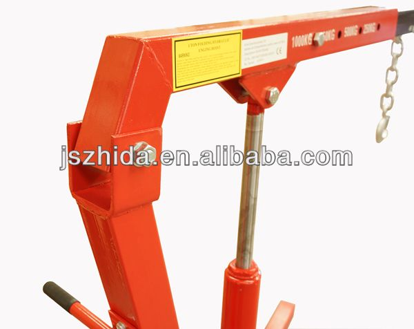 2200 LBS Engine Cherry Picker Hoist Shop Crane 1Ton