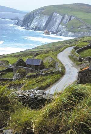Dingle Peninsula, I was there <3 takes you back in time looking at all the houses and stone walls..if this place could only speak...