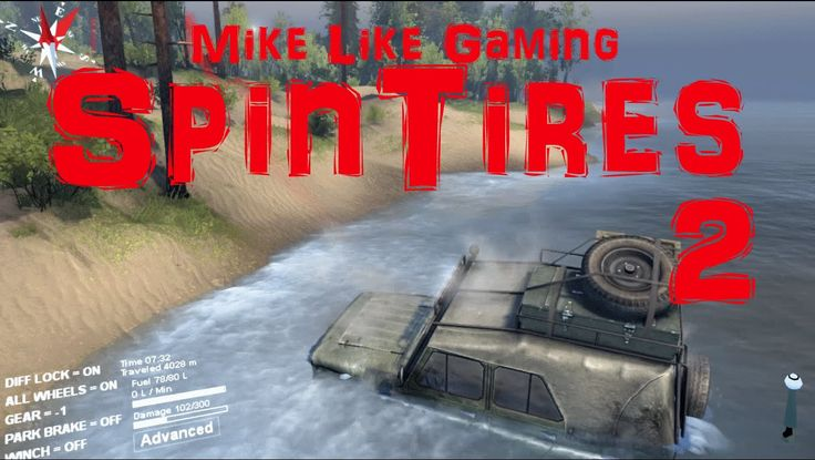 My poor driving of the uaz continues as I decloak the map getting ready for a lumber run in my playthrough of SpinTires: Volcano Map