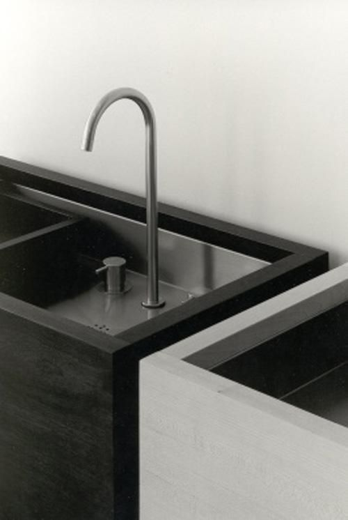 A sink by Antwerp-based architect Vincent Van Duysen.