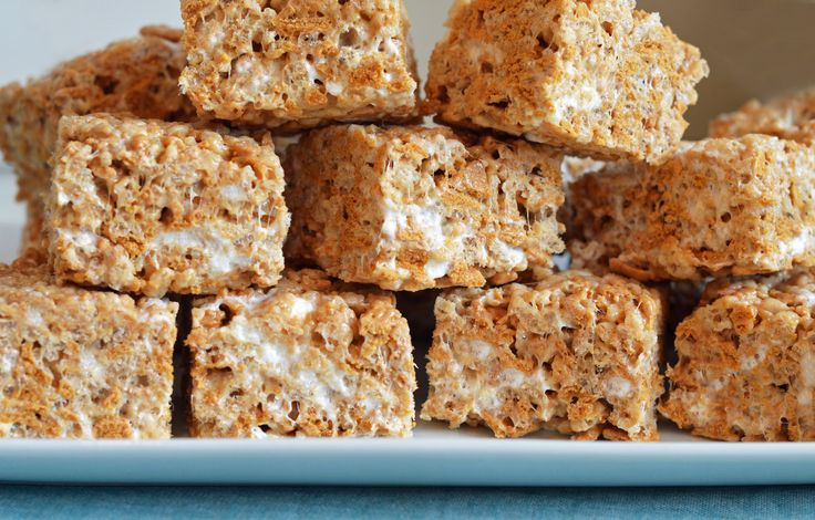 Chewy, Gooey Golden Rice Krispies Treats (Once Upon A Chef)