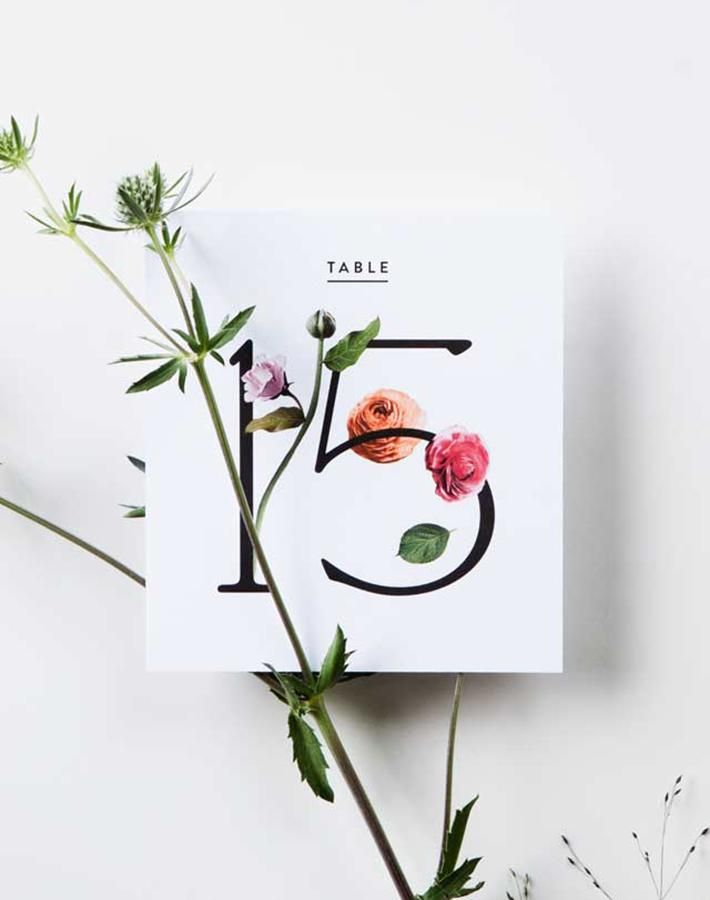 Check out these Minimalist Wedding Invitations for Cool Brides…
