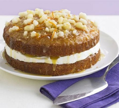 Orange drizzle cake | BBC Good Food | Supposed to be Queen Elizabeth's favorite