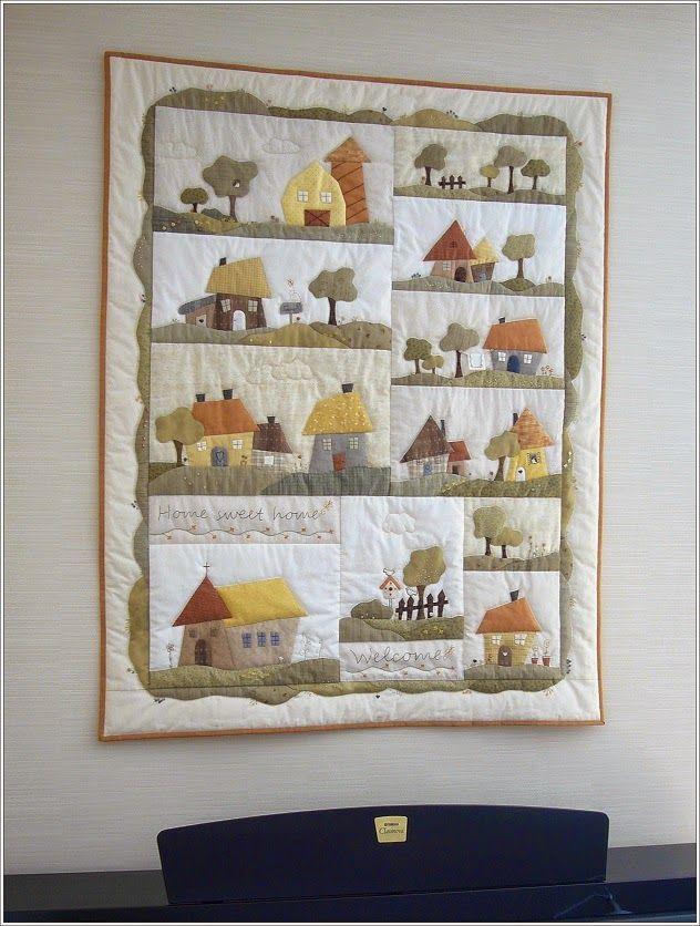Les 3133 meilleures images propos de quilts applique and patchwork sur pinterest - Quilts gele ...