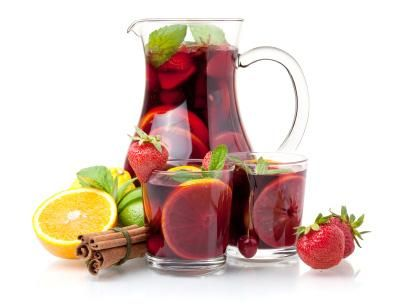 {Island Party Punch, Classic Caribbean Rum Punch, Tropical Sangria ...