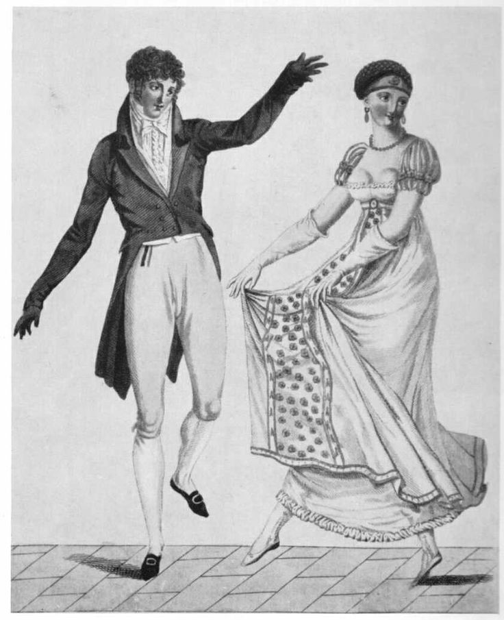Note the neckline of the woman's dress; it was not uncommon for the upper edge of the nipple to be visible. No, this was not considered especially scandalous.