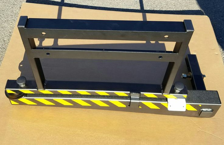 """HTS Systems' HTS-20SHM-2 hitch mount sub-assembly designed for commercial cargo delivery vans. The HTS-20SHM-2 and HTS-20SHM-1 requires a standard class three (3) 2"""" inch ID trailer hitch receiver."""