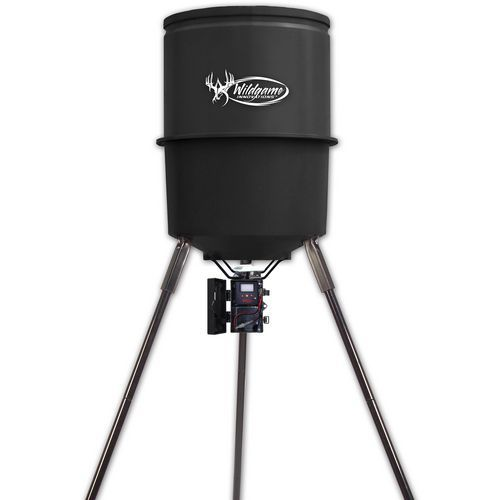 Wildgame Innovations 275-lb Poly Barrel Feeder 000 - Feeder Parts And Accessories at Academy Sports