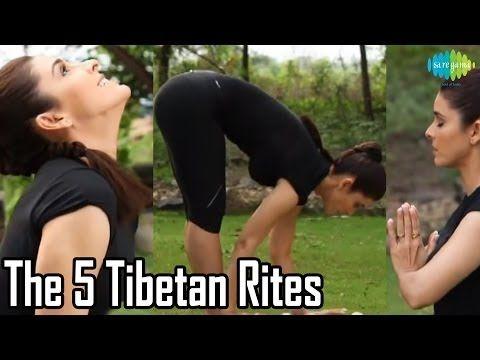 5 Tibeťanov - energetické jógové cvičenie