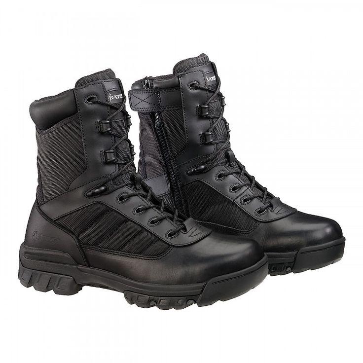 Køb BATES 8 Tactical Sport Side Zip Støvler - Militærstøvler med høj komfort