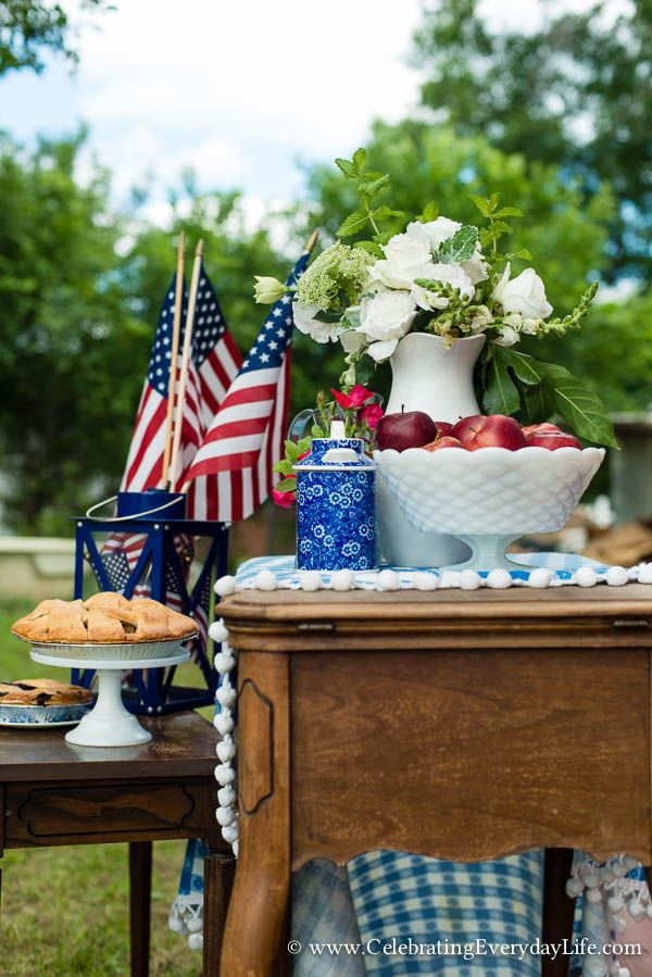4th of July Party Ideas | Celebrating everyday life with Jennifer Carroll