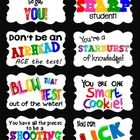 32 End of Year Encouragement Testing Tags for Students!!!  You can use these tags for daily desk treats for students taking end of grade tests.  Ma...