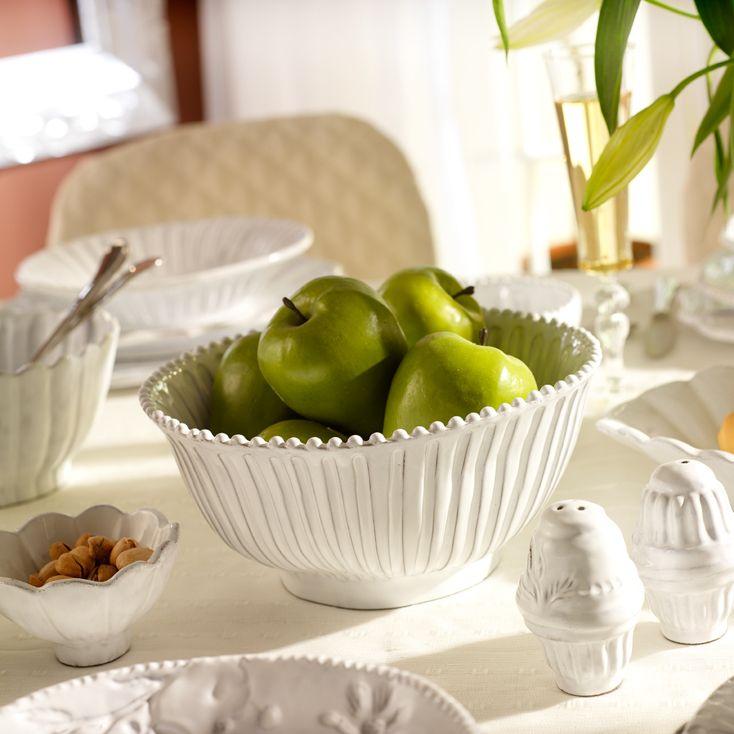 VBC casa ceramic tableware, vintage style, salad or fruit bowl, handmade  Presenting by Tatjana Kern http://www.bytatjana.com/c9/Accessories