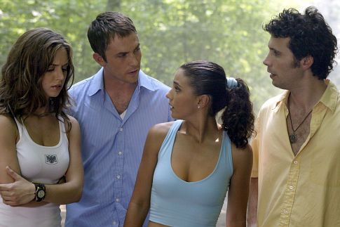 (l to r) Jessie (Eliza Dushku, left), Chris (Desmond Harrington), Carly (Emmanuelle Chriqui) and Scott (Jeremy Sisto).