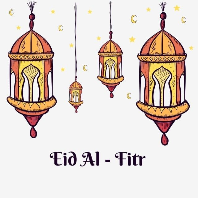 Hand Drawn Arabic Lantern Illustration For Decoration Of Ramadan Kareem And Eid Al Fitr Ramadan Kareem Mubarak Png And Vector With Transparent Background For In 2020 Lantern Illustration Ramadan Kareem Eid