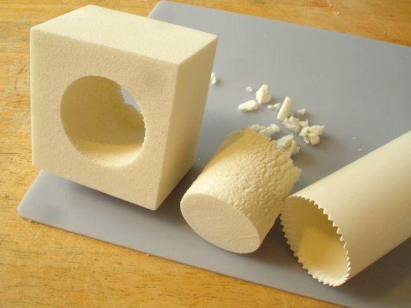 Cutting Smooth Holes In Foam Pu Foam Plastic Plumbing