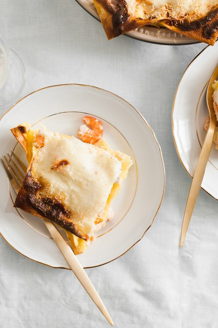 Valeria's seafood lasagna recipe is the perfect dish for an Italian feast.