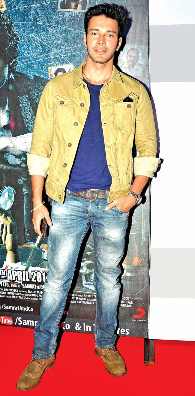 Rajneesh Duggal at the trailer launch of Samrat & Co. #Style #Bollywood #Fashion #Handsome