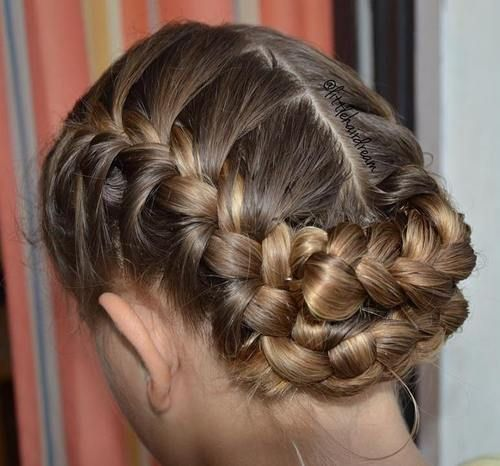 Best 25 french braid updo ideas on pinterest french braid buns 40 flirty and fantastic two french braid hairstyles ccuart Gallery
