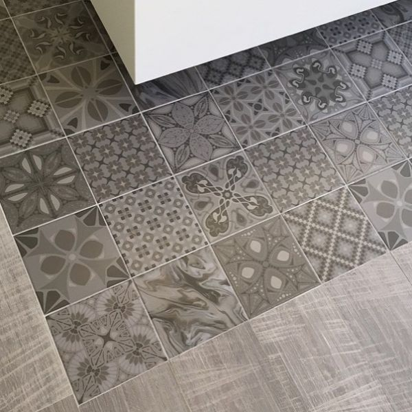 carrelage espagnol s rie 1900 imitation carreaux de ciment 20 x 20 cm cr dence pinterest. Black Bedroom Furniture Sets. Home Design Ideas