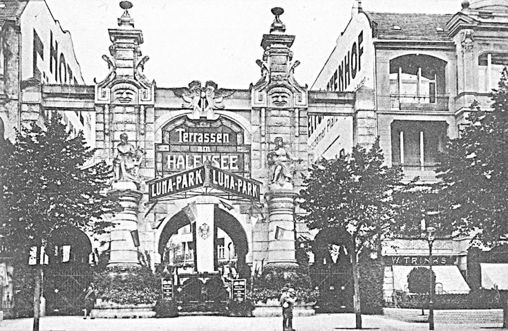 Eingang Lunapark um 1910 Ku-Damm 124a