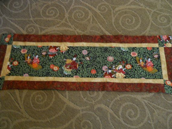Asian Table Runners By QuiltsbyAnne On Etsy