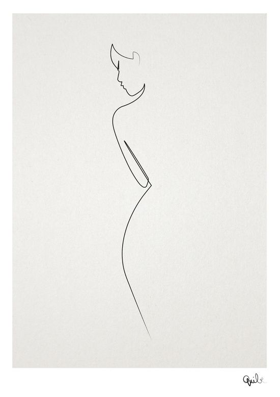 One line nude Art Print                                                                                                                                                                                 More