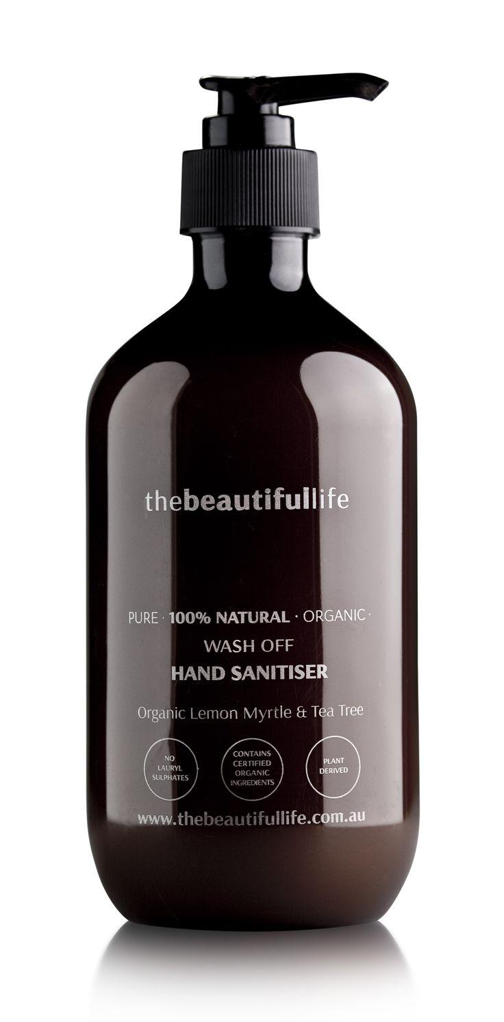 thebeautifullife - Antibacterial Hand Wash with Organic Lemon Myrtle & Tea Tree