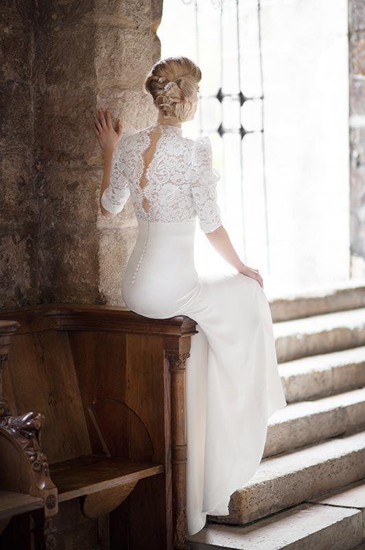 Fabienne Alagama wedding dress 2016