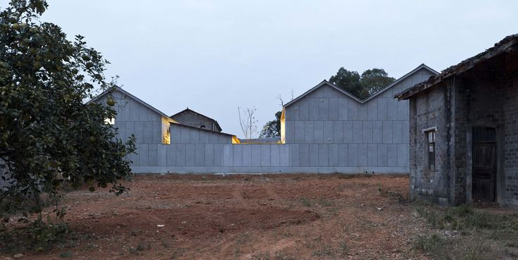 - 6e0a86e8d8f94807605a02c5db136eab - Completed in 2020 in NanChang, China. Images by Kunpeng Liu. What kind of house to build in the countryside? We hope tha…