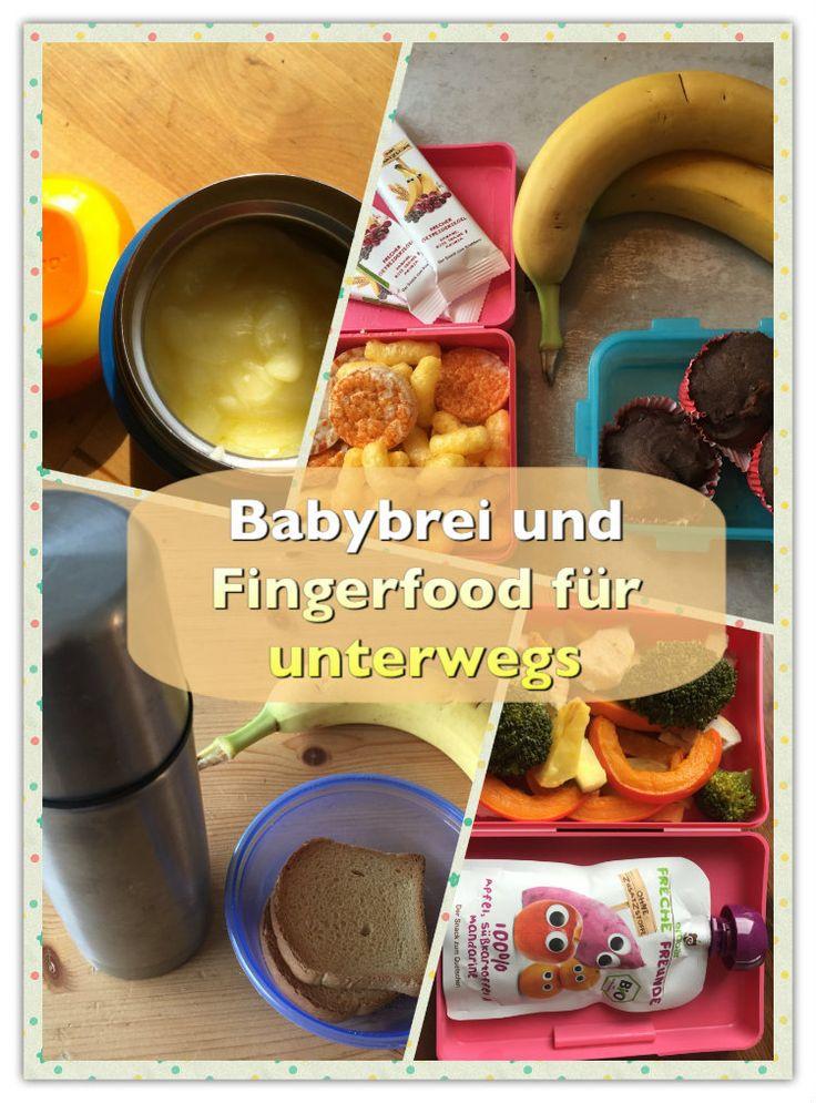 Wie kann ich Babybrei unterwegs erwärmen und was kann ich meinem Baby als Snack oder Fingerfood anbieten? Tipps, wie ihr Babybrei unterwegs füttern könnt und leckere Ideen für Snacks und Knabbereien zum Mitnehmen während der Beikost-Zeit: http://www.breirezept.de/artikel_babybrei_unterwegs_fuettern.html