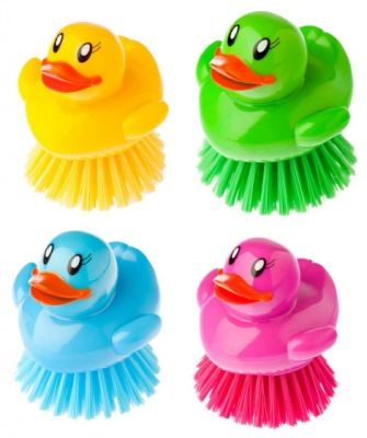 Ducks dish brush