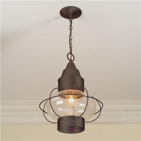 Nautical Hanging Lantern light fixture for over the kitchen sink or dining room table.
