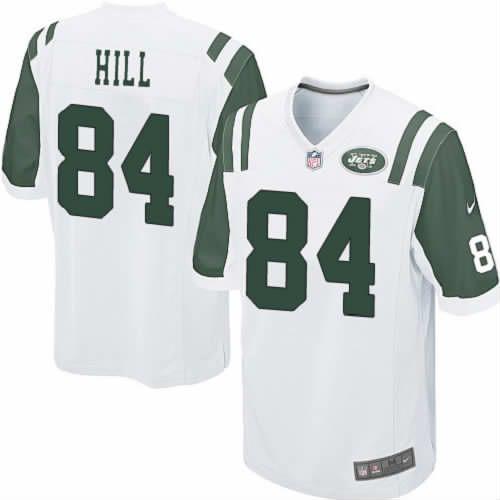 Stephen Hill Jersey New York Jets #84 Youth White Limited Jersey Nike NFL Jersey Sale