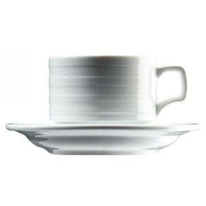 Ceasca pentru cafea din colectia Sato. Este realizat din portelan alb si are textura pe exterior. Produsul se gaseste la capacitati diferite de 80 ml, 100 ml si 180 ml.