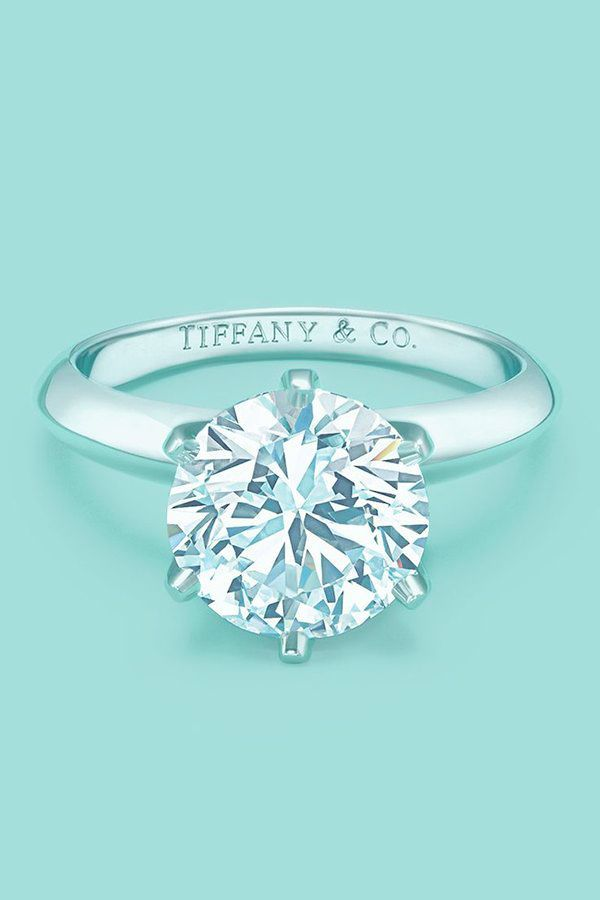 Carat Solitaire Diamond Engagement Clarity Tiffany Engagement Ring Tiffany Engagement Simple Engagement Rings