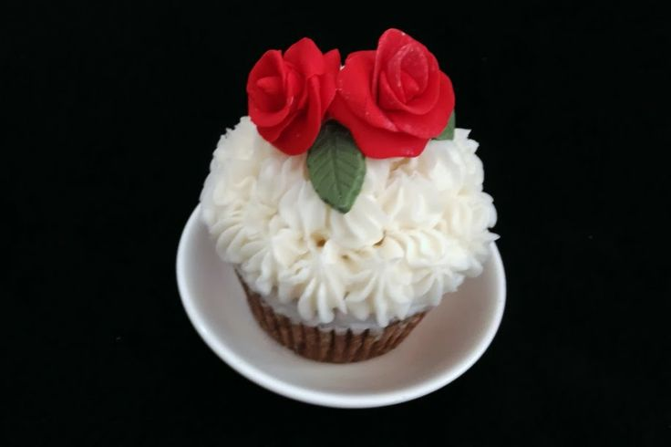 Roses are red... cupcake    Like us on Facebook at https://www.facebook.com/chaoscakes1