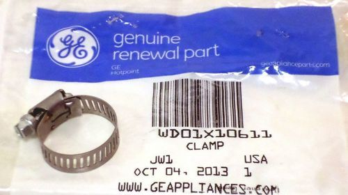 WD01X10611 GE Dishwasher Hose Clamp AP5789109 PS8756105
