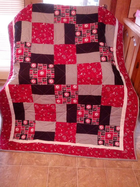 University of Alabama Quilt in Multi by NeNesQuilts on Etsy