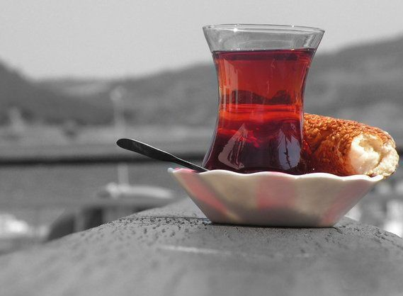 wonderful red: tea (cay in turkish)